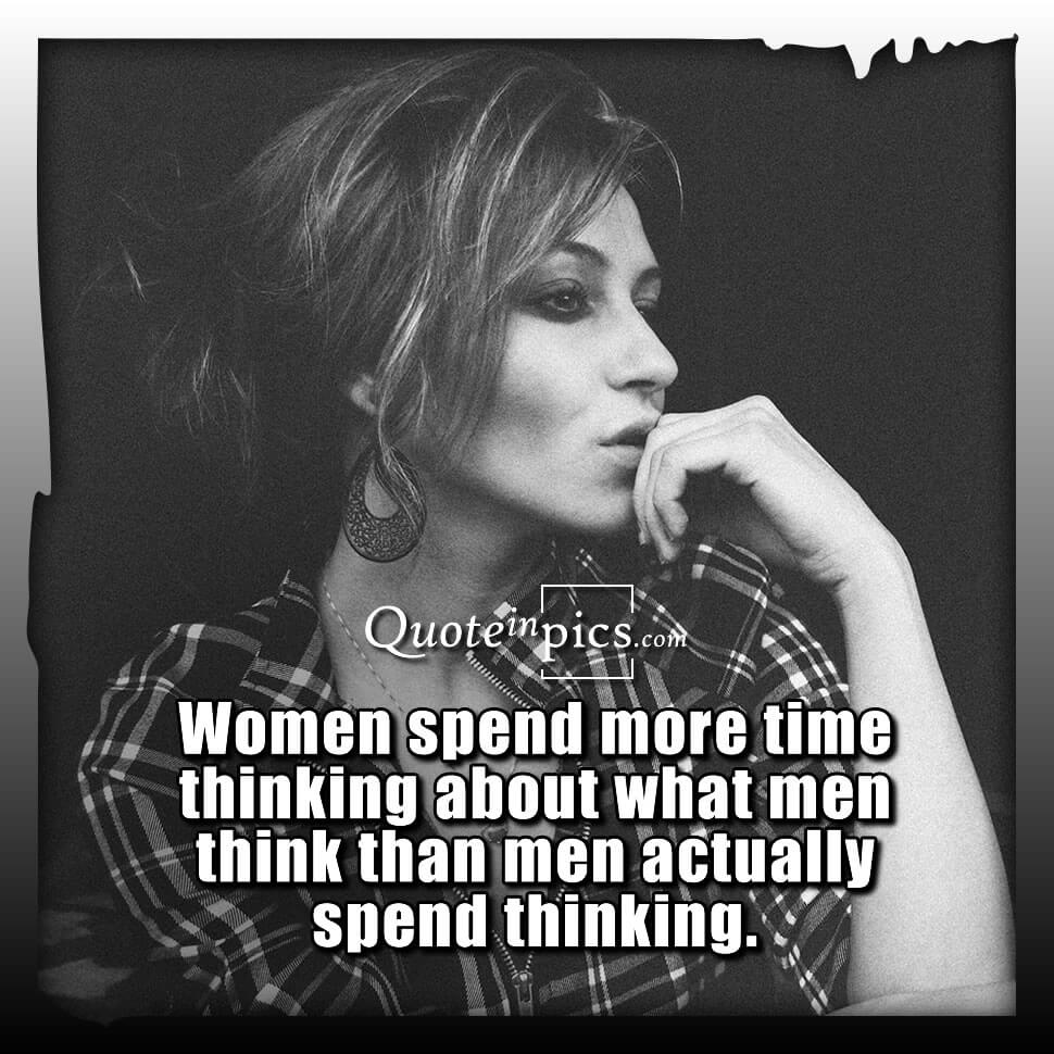 Thinking of what men think