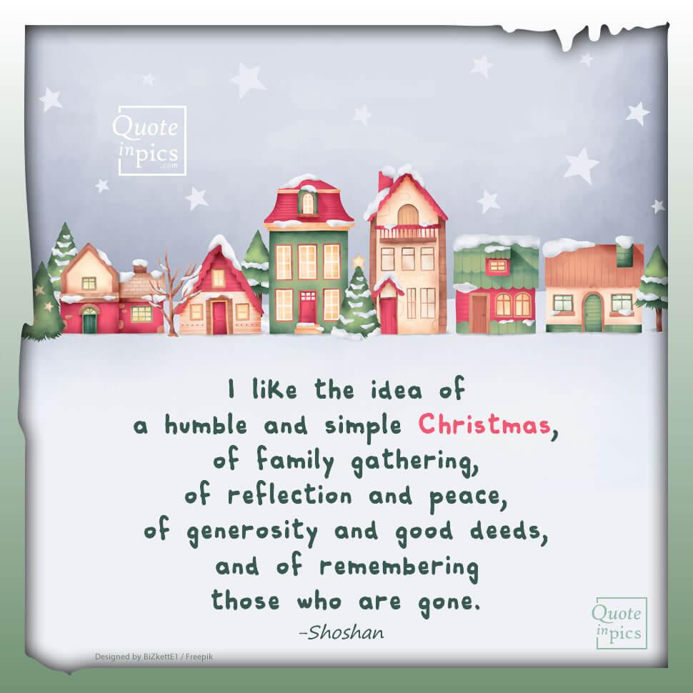 A Christmas I would like