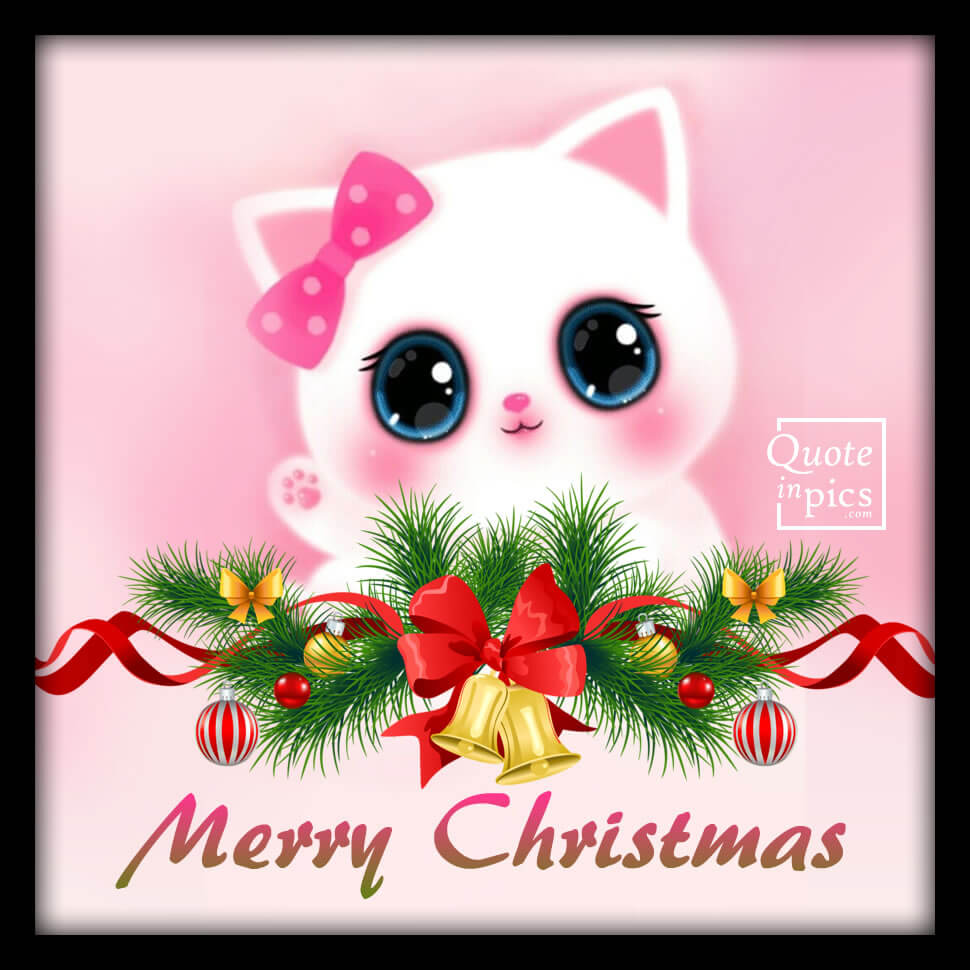 Kitten: Merry Christmas!