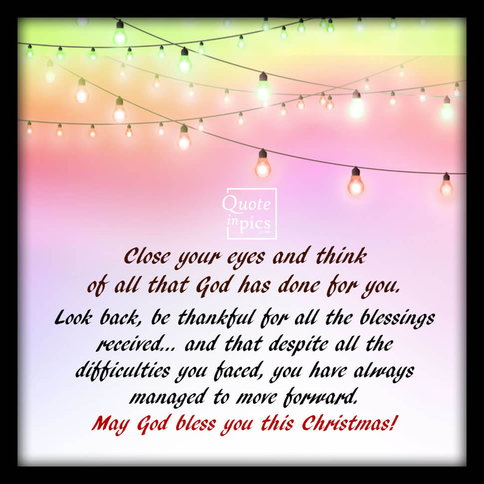 Blessings for Christmas